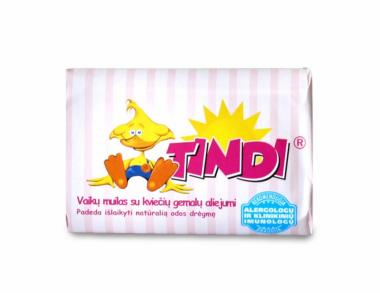 TINDI toilet soap for children with wheat germ oil (90 g)