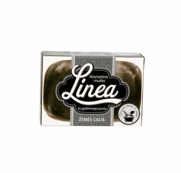 """LINEA kosmetinis muilas """"Žemės galia"""" su gydomuoju purvu (90 g)"""