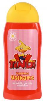 TINDI šampūnas vaikams su kviečių gemalų ekstraktu (210 ml)