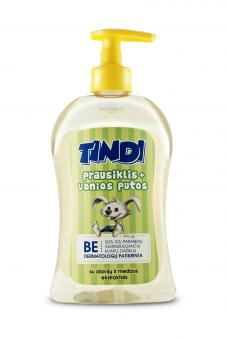 TINDI Wash – bath foam for kids (500 m)