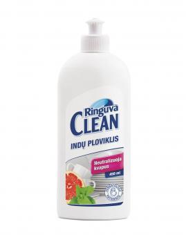 RINGUVA CLEAN indų ploviklis mėtų ir greipfrutų kvapo (450 ml)