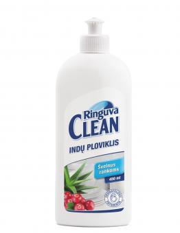 RINGUVA CLEAN indų ploviklis spanguolių kvapo su alavijų ekstraktu (450 ml)