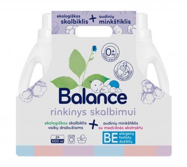 BALANCE skalbimo priemonių vaikų drabužiams rinkinys