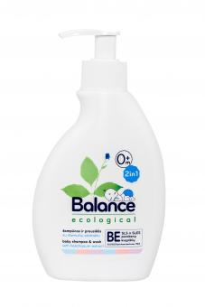 BALANCE Ecological Shampoo Cleanser 2in1 with Helichrysum Arenarium Flower Extract, 250 ml