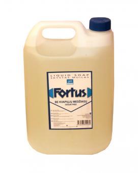 FORTUS skystas tualetinis muilas be kvapių medžiagų (5 l)