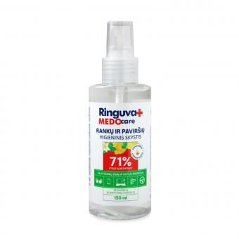 RINGUVA MEDO CARE spray sanitizer for hands and surfaces (150 ml)