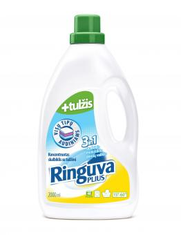 RINGUVA PLIUS 3in1 liquid detergent, fabric softener and stain remover, with gall (2 l)