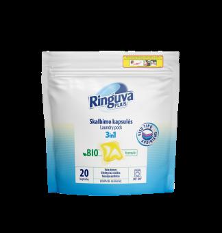 RINGUVA PLIUS pods 3in1 for all types of fabrics, 20 pcs.
