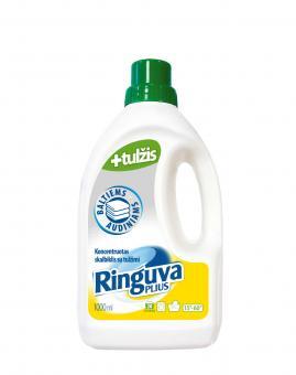 RINGUVA PLIUS skalbiklis su tulžimi baltiems audiniams (1 l)