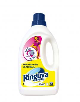 RINGUVA PLIUS silk, wool, viscose, and thin fabric detergent (1000 ml.)