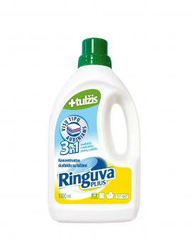 RINGUVA PLIUS 3in1 liquid detergent, fabric softener and stain remover, with gall (1 l)