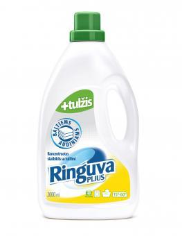 RINGUVA PLIUS liquid white fabric detergent with gall (2 l)