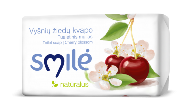 SMILĖ soap with aroma of cherry blossom (100 g)