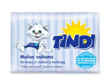 TINDI toilet soap for children (90 g)