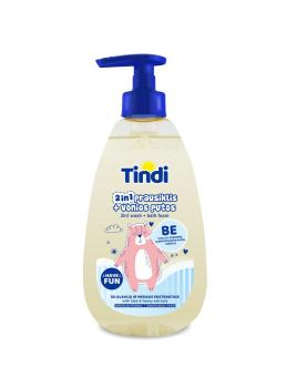 TINDI Wash – bath foam for kids (475 ml)