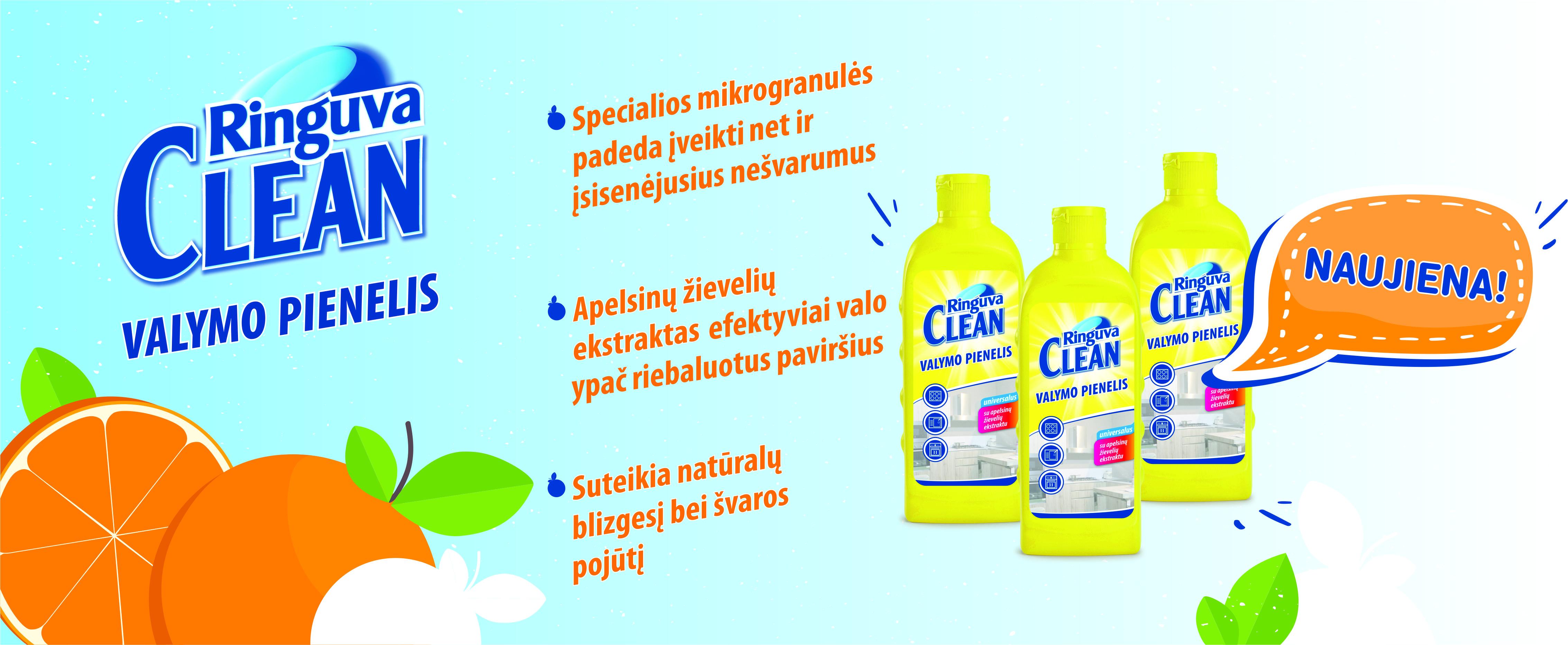 Ringuva Clean valymo pienelis